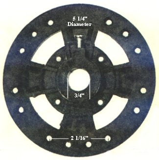 P15  ceiling fan flywheel