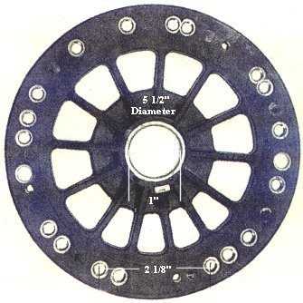 P4  ceiling fan flywheel