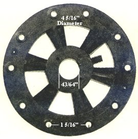 P13  ceiling fan flywheel