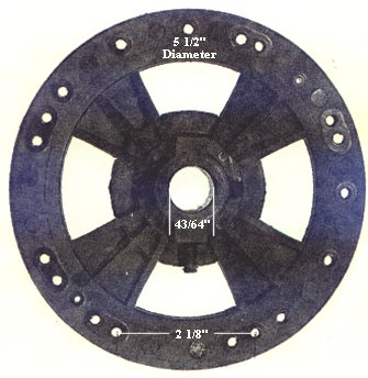 P14  ceiling fan flywheel