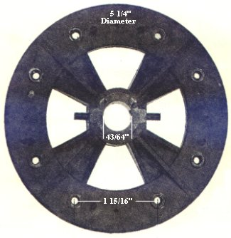P5  ceiling fan flywheel