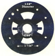 P7a  ceiling fan flywheel