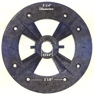 P6  ceiling fan flywheel